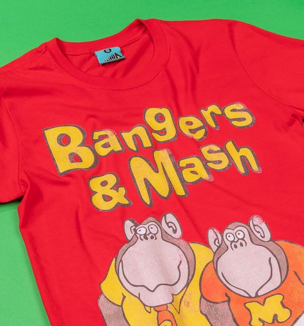 Bangers And Mash Red T-Shirt