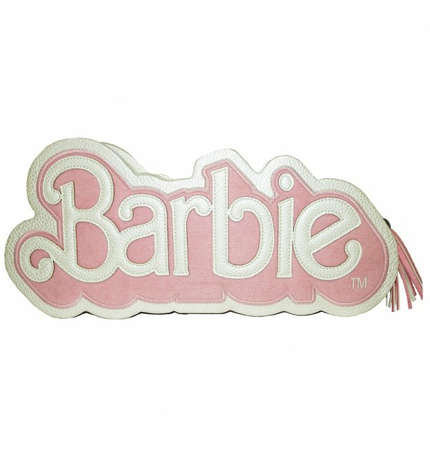 Barbie Logo Shaped Handbag