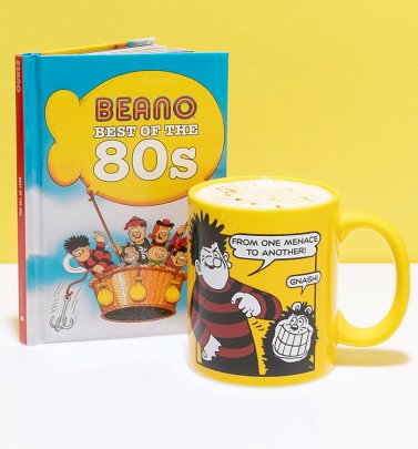 Beano Best of the 80s Book and Mug Gift Set