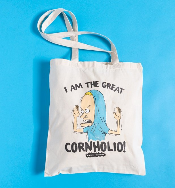 Beavis And Butt-Head Cornholio Tote Bag
