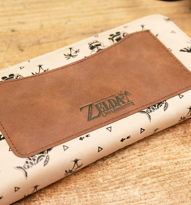 Beige Zelda Link's Awakening Wallet from Difuzed