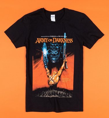 Black Army of Darkness Poster T-Shirt