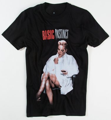 Black Basic Instinct T-Shirt