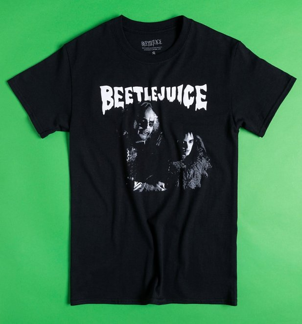 Black Beetlejuice and Lydia T-Shirt