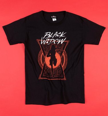 Black Black Widow Movie T-Shirt
