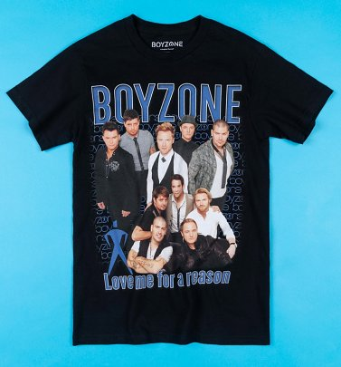 Black Boyzone Love Me For A Reason T-Shirt