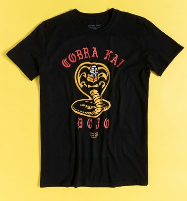 Black Cobra Kai Dojo T-Shirt