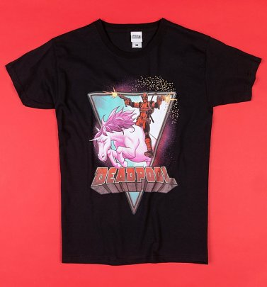 Black Deadpool Unicorn T-Shirt