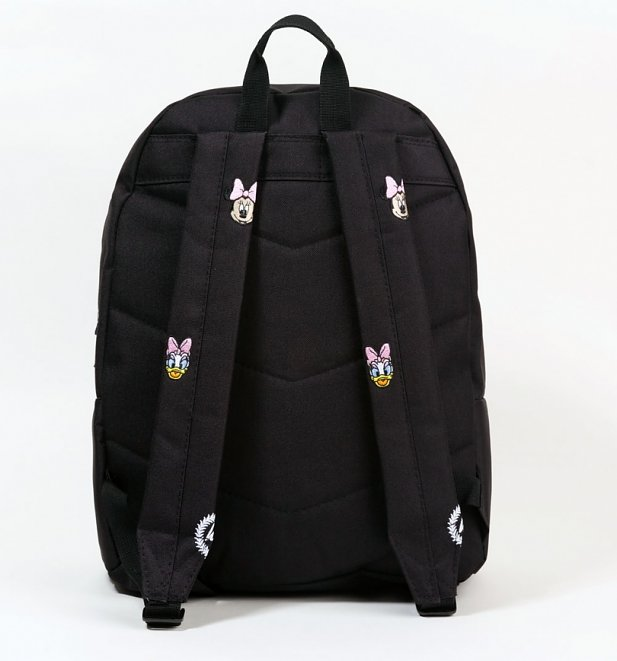 Black Disney Minnie Mouse Daisy Duck Faces Backpack from Hype