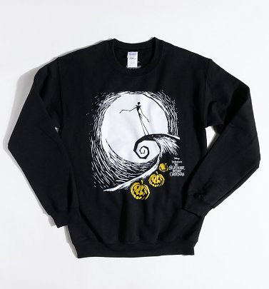 Black Disney Nightmare Before Christmas Jack Skellington Sweater