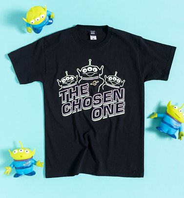 Black Disney The Chosen One Toy Story Aliens T-Shirt