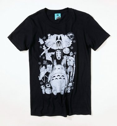 Black Ghibli Gang T-Shirt