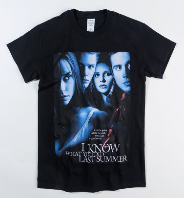 Black I Know What You Did Last Summer T-Shirt Homage Tees