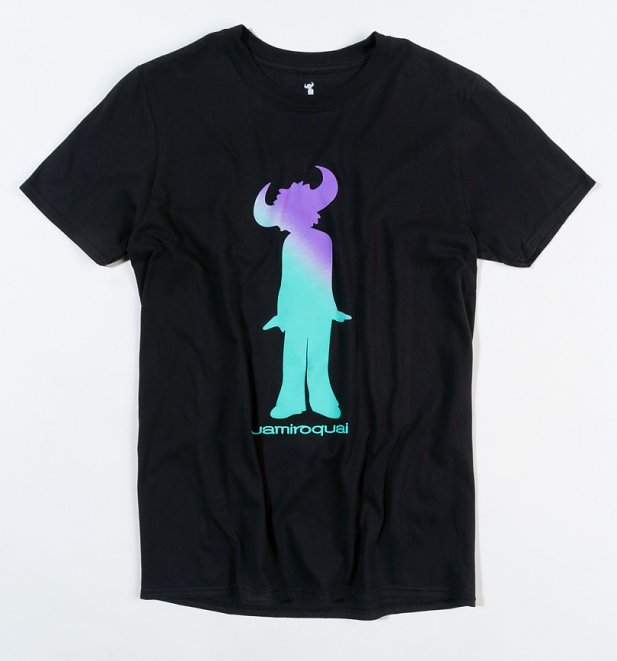 Black Jamiroquai Buffalo Gradient T-Shirt