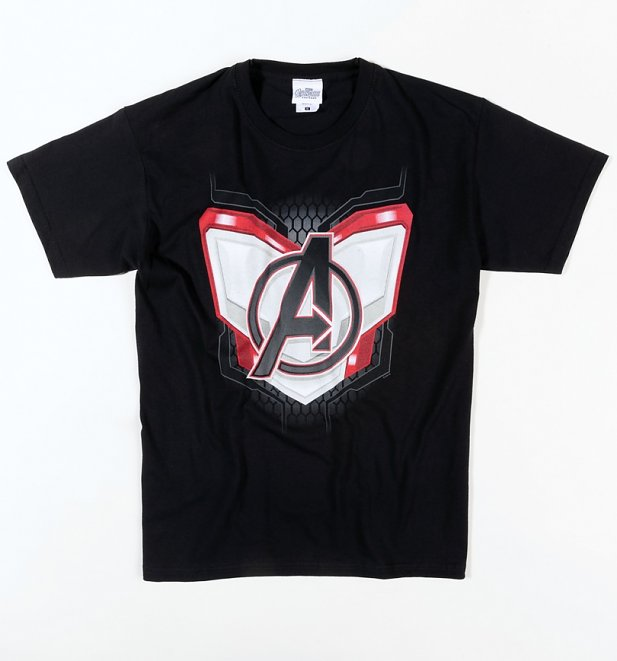 Black Marvel Avengers Endgame Suit T-Shirt