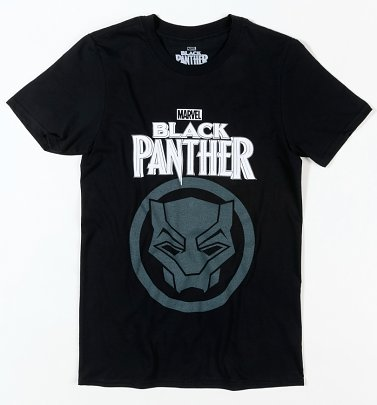 Black Marvel Black Panther T-Shirt