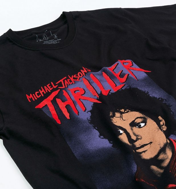 Black Michael Jackson Thriller T-Shirt