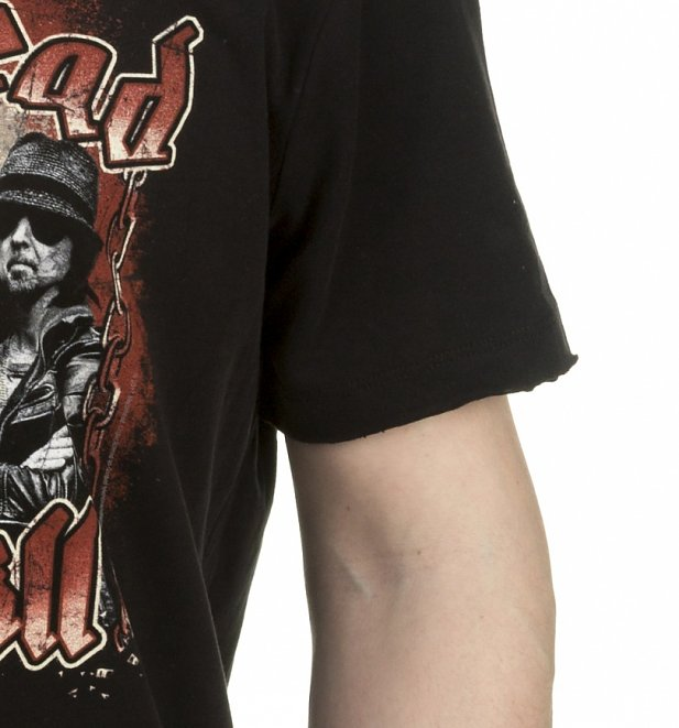 Black Motorhead Chains T-Shirt from Amplified