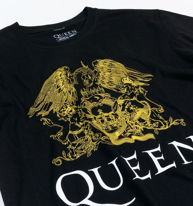 Black Queen Crest T-Shirt