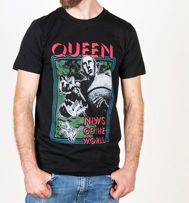 Black Queen News Of The World T-Shirt