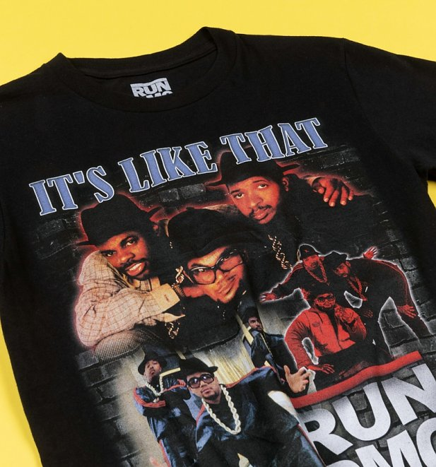 Black Run DMC It's Like That T-Shirt