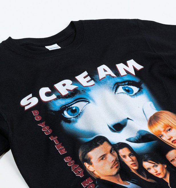 Black Scream T-Shirt from Homage Tees