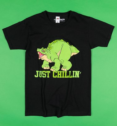 Black Spike Just Chillin Land Before Time T-Shirt