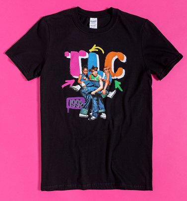 Black TLC Nineties T-Shirt