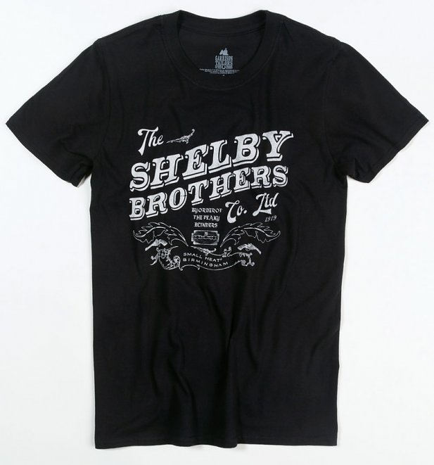 Black The Shelby Brothers Peaky Blinders T-Shirt