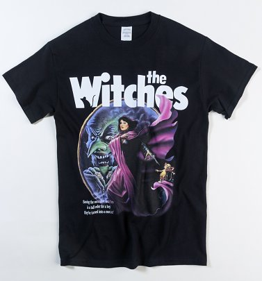 Black The Witches T-Shirt from Homage Tees