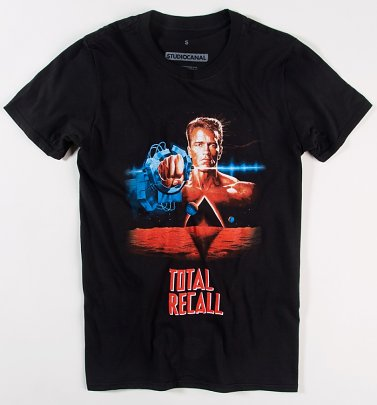 Black Total Recall T-Shirt