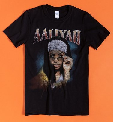 Black Trippy Aayliah T-Shirt