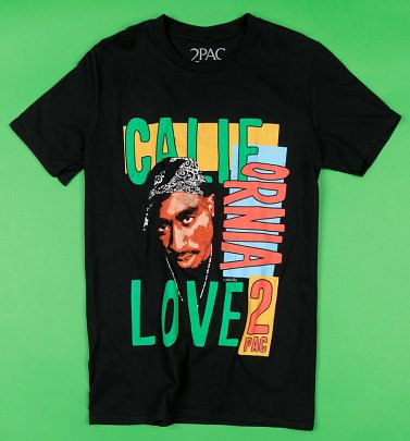Black 2Pac California Love T-Shirt