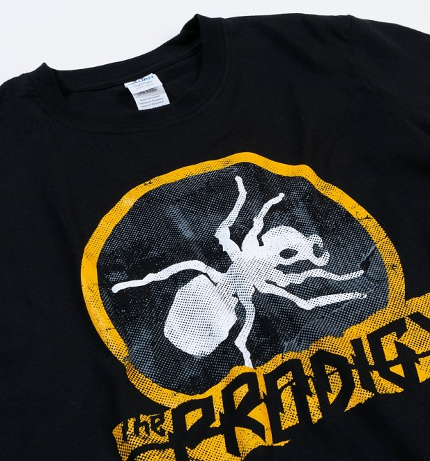 Black Vintage Distressed Prodigy Ant T-Shirt