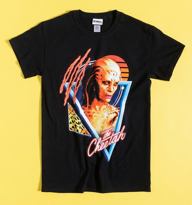Black Wonder Woman 1984 Cheetah T-Shirt