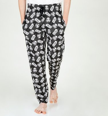 Black and White Star Wars Loungepants