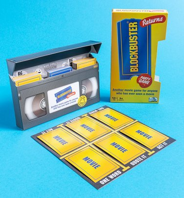 Blockbuster Returns VHS Movie Game