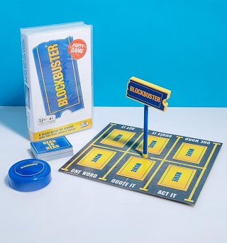 Blockbuster VHS Movie Game