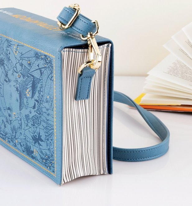 Blue Moomin Book Cross Body Bag from House Of Disaster