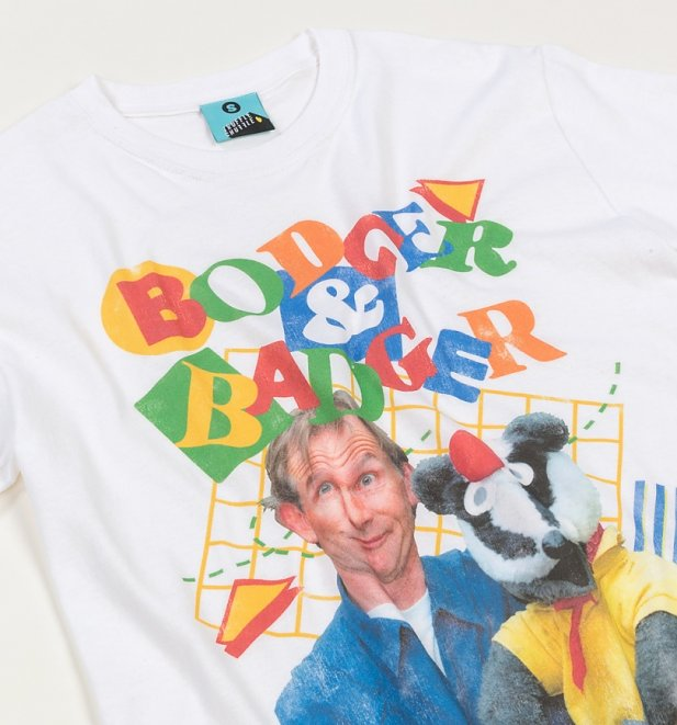 Bodger & Badger White T-Shirt
