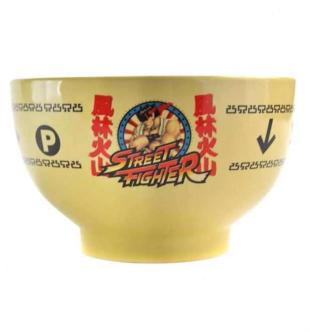Boxed Street Fighter Ryu Bowl