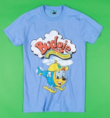 Budgie The Little Helicopter Blue T-Shirt