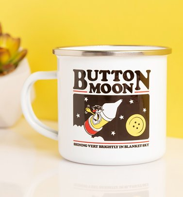 Button Moon Enamel Mug