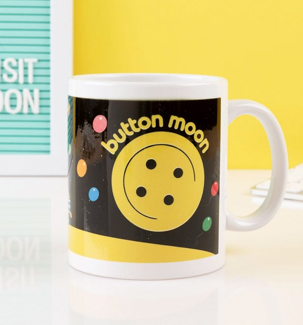 Button Moon Mug