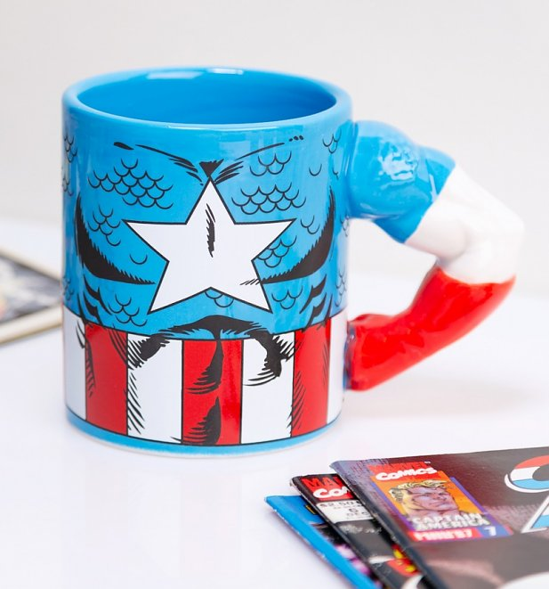 Captain America Arm Meta Merch Mug