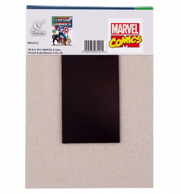 Captain America Cover Notepad