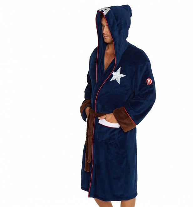 Captain America Dressing Gown