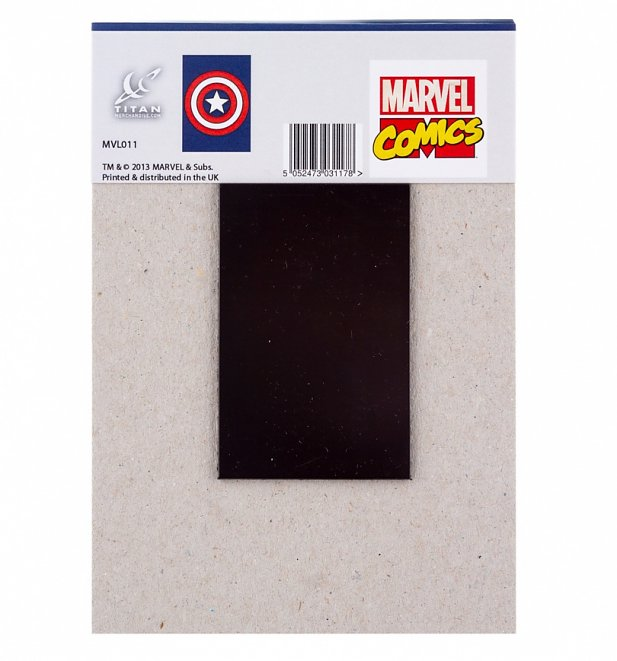 Captain America Shield Magnetic Notepad