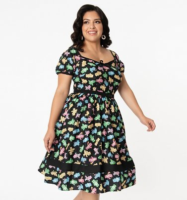 Care Bears Hannah Dress from Unique Vintage