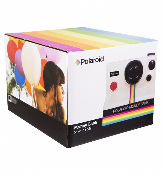 Ceramic Polaroid 3D Money Bank